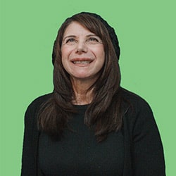 Portrait Of Judy Rogers, Participant In Wayfind Creative